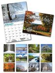Custom Scenic View 13 Month Custom Appointment Wall Calendar (8.5