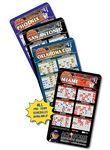 25 Mil Basketball Sport Schedules Magnet w/ Round Corners (3.5