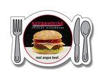 Stock 20 Mil Plate & Silverware Magnet