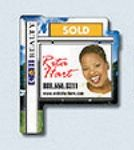 """Stock 20 Mil Realty Home Sign Shaped Magnet (2.25""""x2.75"""")"""