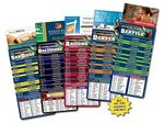 Custom Magna-Card Business Card Magnet Football Schedules (3.5