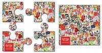 """4 Piece Puzzle Shape Magnet - 20 Mil (3.5""""x3.5"""")"""
