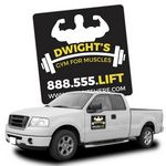 Custom 30 Mil Magnetic Vehicle Signs (12