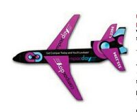 UV Coated Paper Airplane Jet
