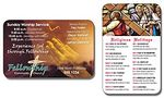 "Religious Laminated Wallet Card - 3.5""x2.25"" (2-Sided) - 14 Point"