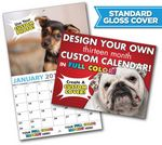 Custom Large Custom Photo 13 Month Appointment Wall Calendar