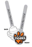 "UV-Coated Plastic Paw Print I.D. Tags (3.25""x9.5"")"