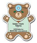 "Stock 30 Mil Teddy Bear Magnet (4""x4.625"")"