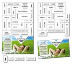 "TuffMag Magna Phrase Magnet Business Card Magnet (3.5""x5.75"")"