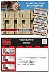 """Laminated Postcard w/ Coupons (3 Count) - 5""""x3.5"""" - 14 Point"""