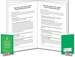 Custom 36-Page Folded & Staple-Bound Booklet, Brochure or Catalog