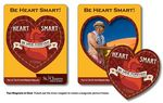 30 Mil TuffMag™ Outdoor Picture Frame Magnet w/Heart Punch Out