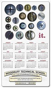 Custom School Calendar Magnet - 4
