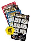 Custom Magnet Sport Schedules - 4