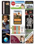 25 Mil Laminated Business Card Magnet w/Round Corners (3.5