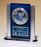 Custom A recognition award with a global perspective. Airflyte World Time Clock