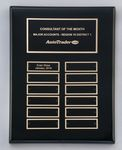 Custom Black Piano Finished Perpetual Plaque - 11''x14''