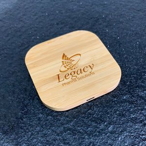 Nature Inspired Bamboo Fast Charging 15W Pad