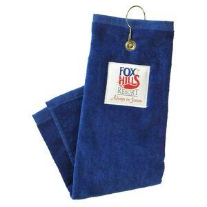 Custom Printed Elite Fabric Golf Towels