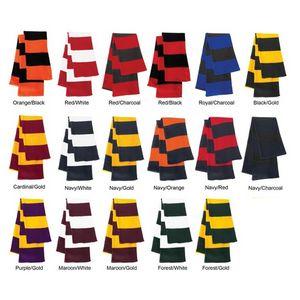 Custom Rugby Knit Scarf - Blank