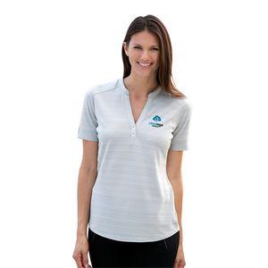 Womens Vansport Strata Textured Polo Shirt