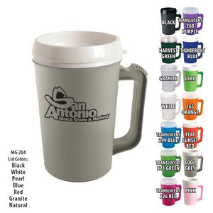 Mugs 22 Oz Grande Coffee Mug With Spill Resistant Lid Mg 204 Ideastage Promotional Products
