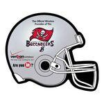 Football Helmet Shape Paper Hand Fan W/out Stick