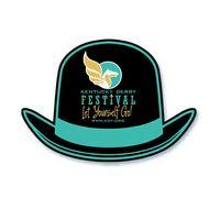 Derby Hat Shape Paper Hand Fan w/out Stick