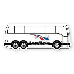 Custom Printed Bus Shaped Magnets!