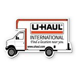 Moving Delivery Truck Stock Shape Vinyl Magnet - 30mil