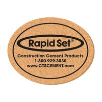 "Coaster - 3 1/2"" x 4 1/2"" Oval Shape Cork Coasters"
