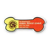 Dog Bone Stock Shape Vinyl Magnet - 30mil