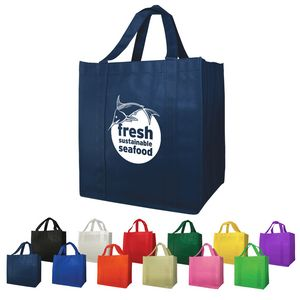 Non-Woven (13W x 15H x 10D) Shopping Tote Bags
