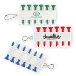 Custom Golf Tee & Tee Holder Keychain