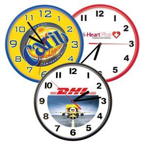 Custom Imprinted Wall Clocks Round!