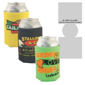 Beverage Insulator Cooler Pocket Can Coolie - 3 Side Full Color Imprint Included!