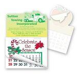 Tow Truck Shape Calendar Pad Sticker W/Tear Away Calendar
