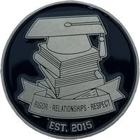 """1.75"""" 2 Sided Color Challenge Coin"""
