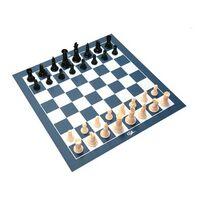 Small Vinyl Chess/ Checkers Board