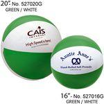 Custom Classic Inflatable Beach Ball (20