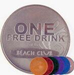 """1 9/16"""" Aluminum 14 Gauge Die Struck Coin & Medallion"""