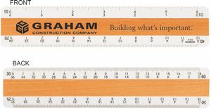 Custom Printed Civil Engineering Rulers!