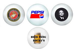 Beer Pong Balls Imprinted