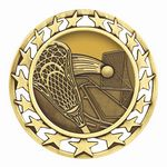 Custom Lacrosse Medal