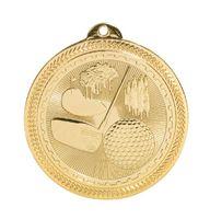 "2"" BriteLazer Medal-Golf"