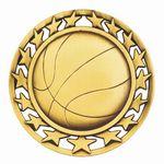 Custom Basketball General Medal