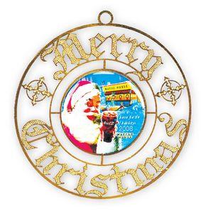 Colored Enamel Christmas Ornaments -