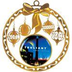 Custom Brass Holiday Ornament
