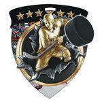 Custom Color Burst Medals/Hockey