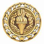 Custom Victory Torch Medal